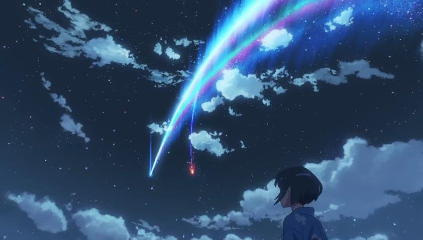 君の名は。予告、彗星シーン