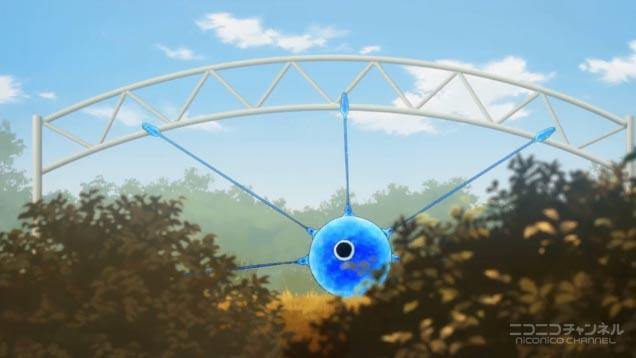 ゲートを占拠する大型セルリアン