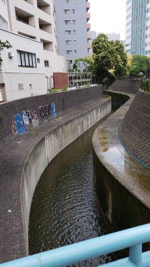 タコ公園となりの河