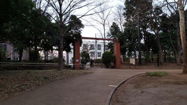 井草森公園-北口ゲート