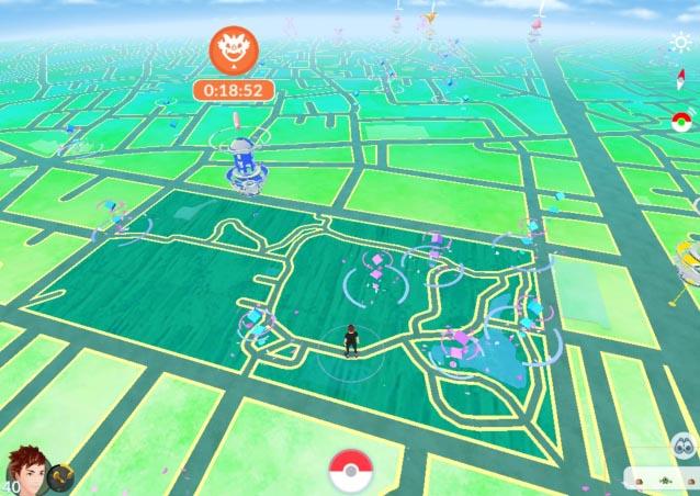 井草森公園-ゲーム画面