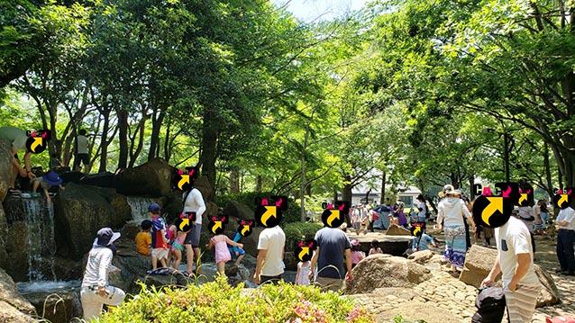 井草森公園-東北口-水場-5月