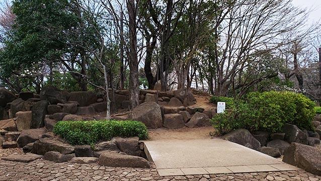 井草森公園-東北口-水場-3月
