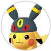 BOX整理-リストアイコン-ブラッキー帽ピカチュウ