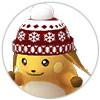 BOX整理-リストアイコン-冬柄帽子ライチュウ