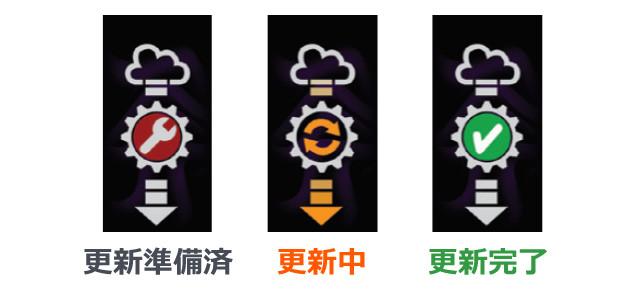 ポケットオートキャッチ Watchic-取扱説明図-専用アプリ-更新について