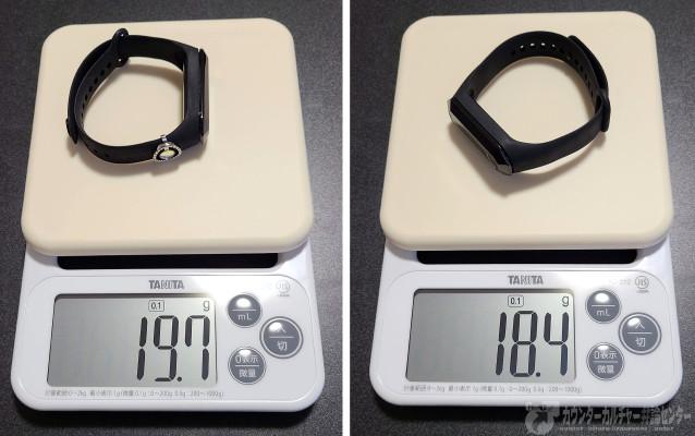 ポケットオートキャッチ「メテオ」とポケットオートキャッチ2の重さ比較